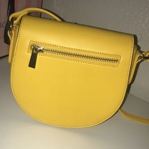 Yellow crossbody